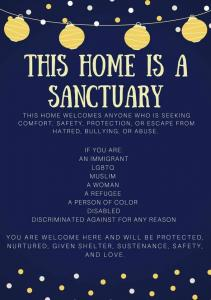 Our Home is a Sanctuary
