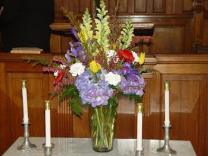 Pulpit Flowers
